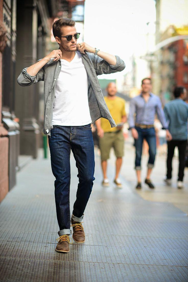 Men's Fashion: Simple Summer Looks - Infinity Magazine